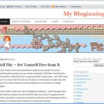 My Second Blog Theme